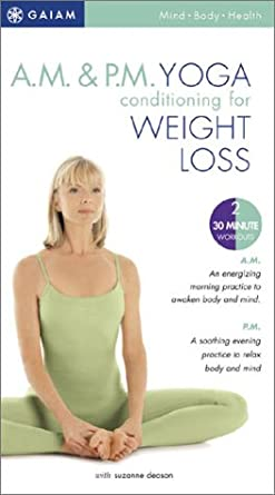 Amazon.com: A.M. & P.M. Yoga Conditioning for Weight Loss (2 ...