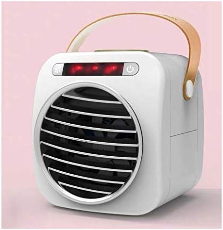 CHENGXI 低騒音冷却ファンUSB充電冷却ファン多機能ファン ポータブルエアコン (Size : Light display)