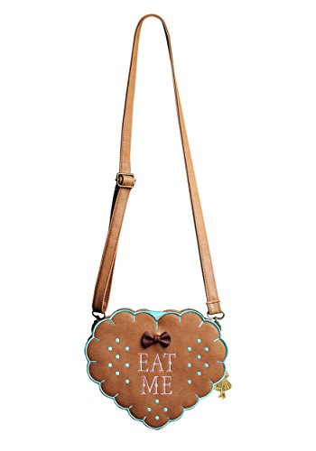 Alice In Wonderland Eat Me Cross Body Purse Standard