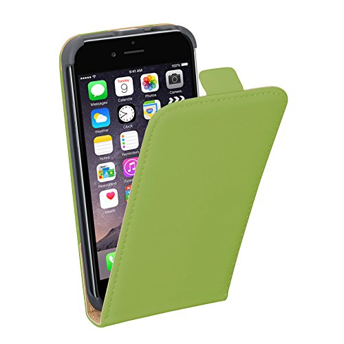 PEDEA Tasche für Apple iPhone 6 grün