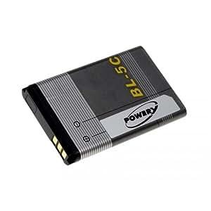 Batería para Nokia 3125, 3,7 V, ión-litio para teléfono móvil, diseño de []