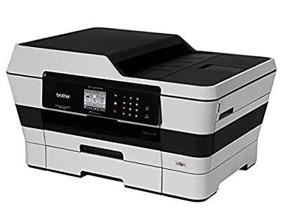 Brother MFC-J6720DW Wireless Inkjet Color Printer with Scanner, Copier and Fax, Amazon Dash Replenishment Enabled