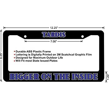 Amazon.com: Doctor Who Licence Plate Frame \