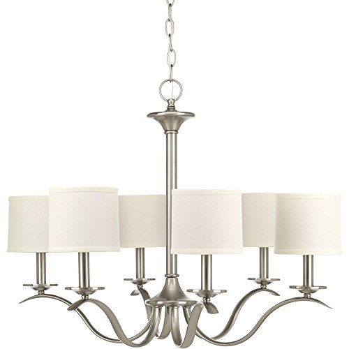 Progress Lighting P4739-09 Traditional/Casual 6-60W Cand Chandelier, 97