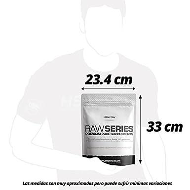 Harina de Avena de Sabor de HSN Raw - Sin soja, Vegana - Instantánea Ideal para Batidos, Tortitas de Avena y Claras, Recetas Fitness - En Polvo - Sabor ...