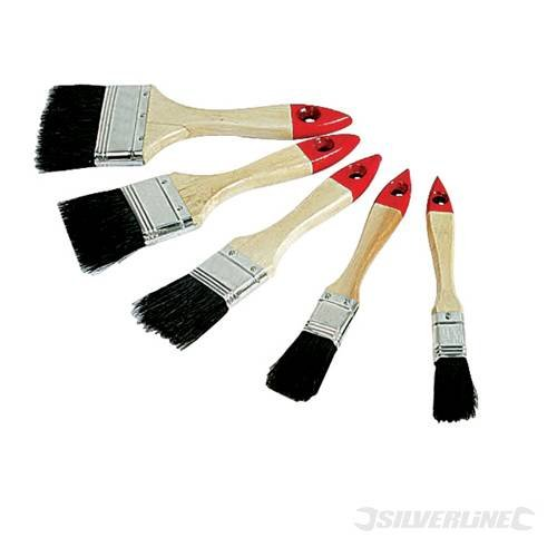 Decorating Paint Brushes Disposable Brush Set 5 pce piece...