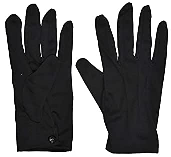 Theatrical Black Gloves For Unisex