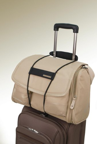 BAG BUNGEE - attach a 2nd bag or any other item to your luggage