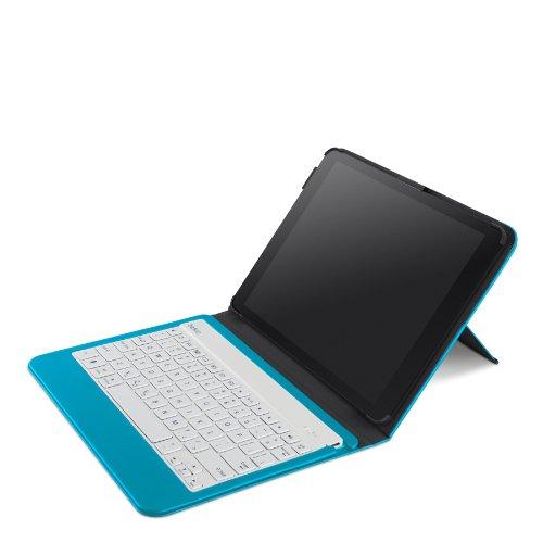 Belkin QODE Slim Style Keyboard Case for iPad Air - Topaz (F5L152ttC05) by Belkin