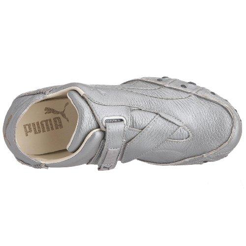 Silver Donna White Ginnastica Da Whisper Puma Amoko Scarpe Vintage 7aWqf6H1