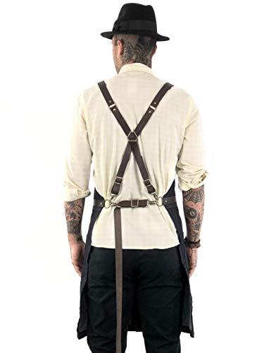 leather apron split - 5