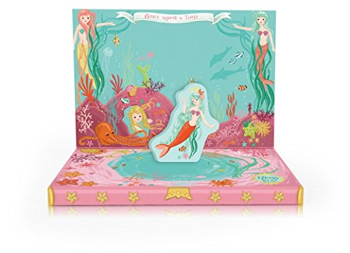 Mermaid Stationery (My Design Co.Music Box Card 3D Pop Out, 6 x 4.75-Inches, Mermaid Adventures)