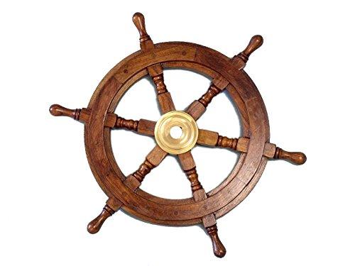 Wooden Ship Wheel 15