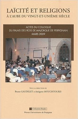 Livre Laïcité et religions : A l'aube du vingt-et-unième siècle pdf, epub ebook