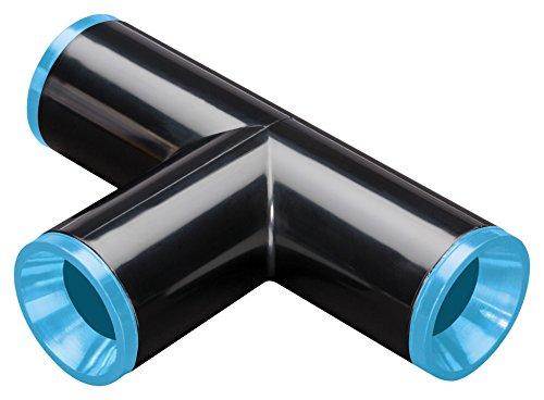 (Rain Bird CT710X Drip Irrigation Easy Fit Compression Tee Fitting, .710