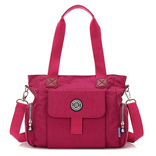 Big Mango Fashion Lightweight Women's Top Handle Handbag Satchel Purse Shoulder Tote Bag Crossbody Bag - Stylish Mini Tote