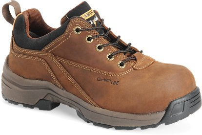 Shoe Carolina Oxfords (Carolina Boots: Women's Composite Toe Brown Oxford Work Shoes LT250-8W)