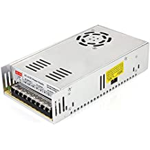 SUPERNIGHT 12V 30A Switching Power Supply, 110-240 Volt AC to DC 360W Universal Regulated Switching Transformer Adapter Driver for 3D Printer, CCTV, Radio, LED Strip Lights,Computer Project