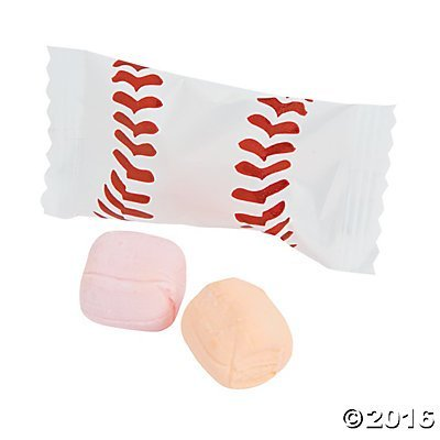 Baseball Sweet Cream Candies - 108 ()