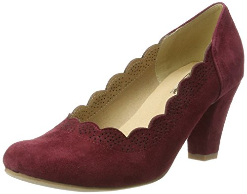 Hirschkogel Women's 3003409 Closed Toe Heels Red (Bordo 024) cheap release dates clearance low price clearance store for sale clearance in China footlocker pictures for sale tOA0Iz69Kl