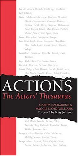 Pdf Arts Actions: The Actors' Thesaurus
