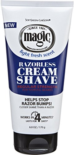 - Magic Razorless Cream Shave