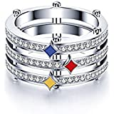 Evermarker NFL Rings Pittsburgh Steeler Championship Ring Size 10 Unisex Ring for Die Heart Steelers Fan Champions