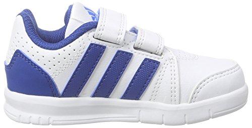 adidas Performance Unisex Baby LK Trainer 7 CF Lauflernschuhe Weiß (Ftwr White/Eqt Blue S16/Shock Blue S16)