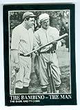Babe Ruth and Ty Cobb baseball card (New York Yankees Detroit Tigers) 1992 BRC #125