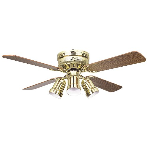 Concord Fans Hugger Ceiling Fan with 4 - Bullet Ceiling