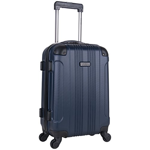 Kenneth Cole Reaction Out Of Bounds 20-Inch Carry-On Lightweight Durable Hardshell 4-Wheel Spinner Cabin Size Luggage (Luggage 60 Linear Inches)