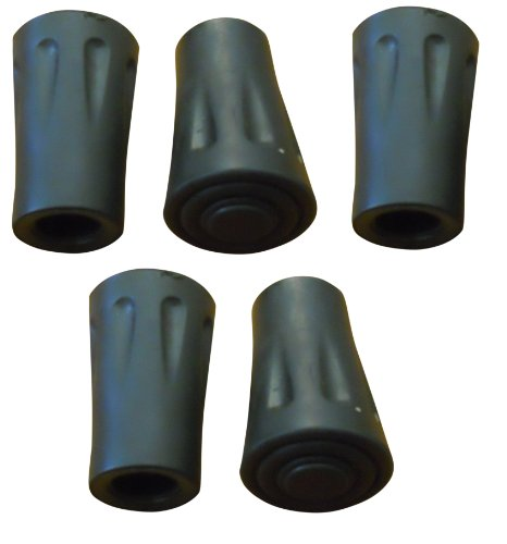 BAFX Products (TM) Pack of 5 Hiking Pole Replacement Tips For BAFX Products Hiking Poles