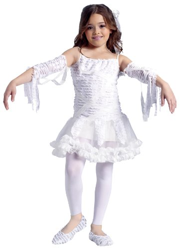 Tutu Mummy Child 4-6 Costume Item - Funworld (Girls Tutu Mummy Costumes)
