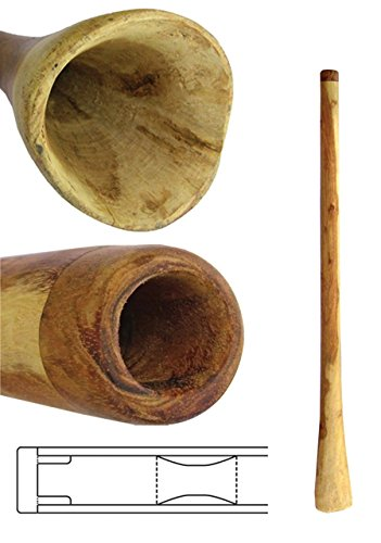 Didgeridoo Eucalyptus Yellowbox nature. Tunings: F, G and sometimes E. Smaller Bells and a length of 50 inch. Because of its density, sound characteristics and stability this wood is the best wood for Didgeridoos. To prevent it from cracking it has a...