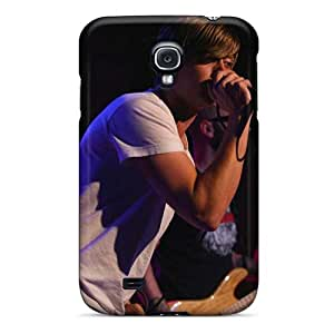 Protector Cell-phone Hard Cover For Samsung Galaxy S4 With Customized Lifelike Boys Like Girls Band Pictures SherriFakhry