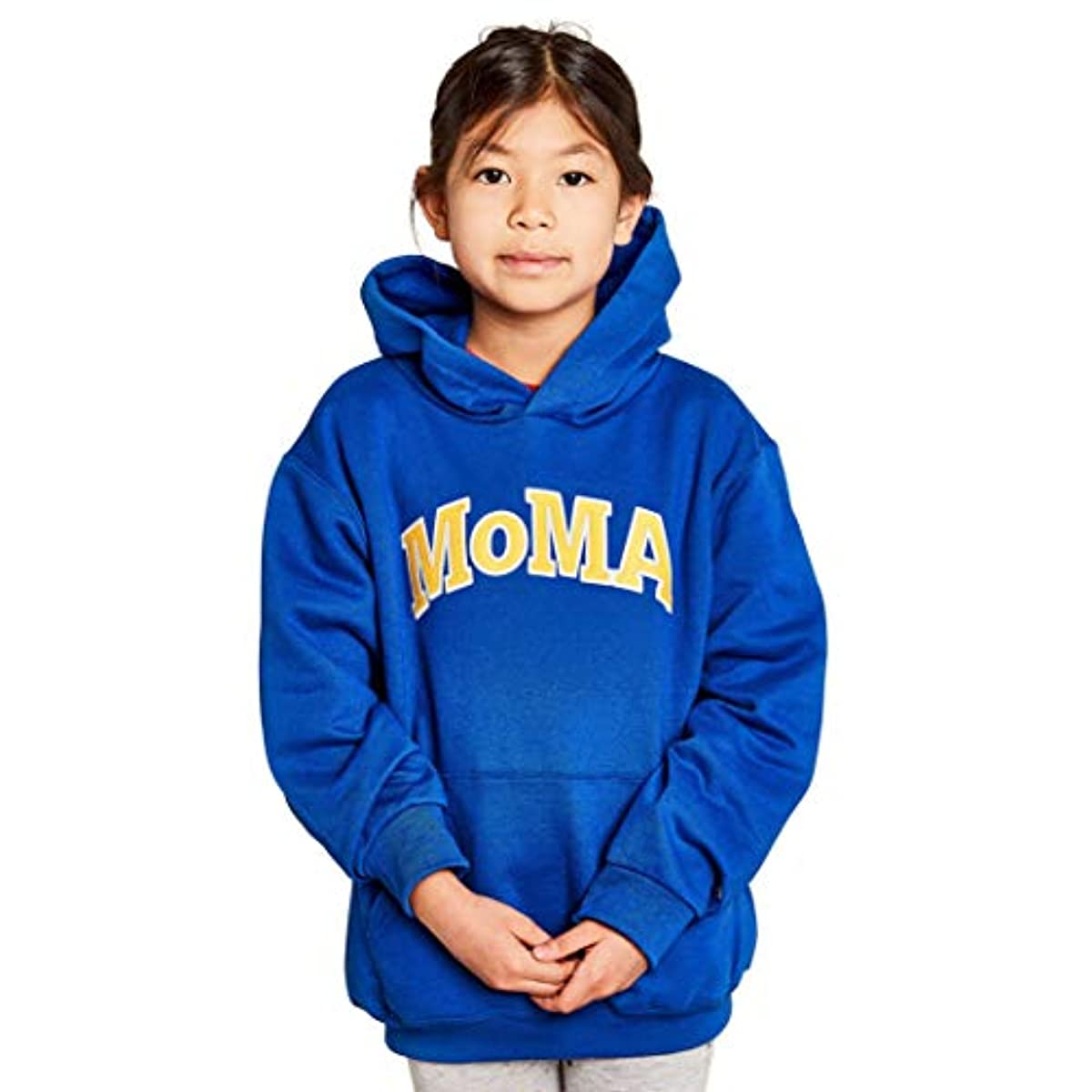 [해외] MoMA 모마 X 챔피온 키즈 후드 M 블루