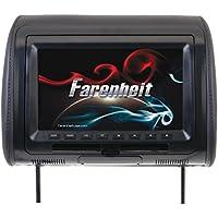 Farenheit HRD-91CC 9 Universal DVD Headrest (With USB/Aux)