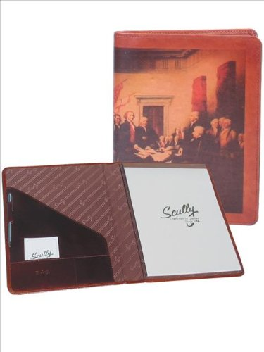 Scully Women's 5012 Old Atlas/Pony Leather Padfolio (Aloe) (Leather Scully Letter)