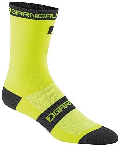 - Louis Garneau - Men's Tuscan Long Ultra Thin Performance Cycling Socks, Yellow/Black, Small/Medium