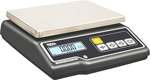 balanza dibal g-300 plana solo peso homologada de 15Kg/5g.: Amazon.es: Industria, empresas y ciencia