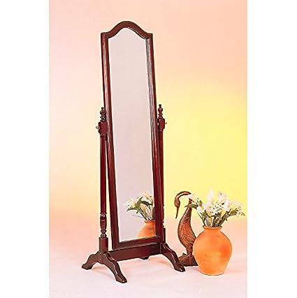 Amazon.com: Full Length Cheval Floor Mirror - This Oval Floor Mirror ...