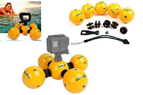 Aquasphere–(5pieza) Floaty flotador flotante flotabilidad bola dispositivo impermeable para GoPro Accesorios Héroe...