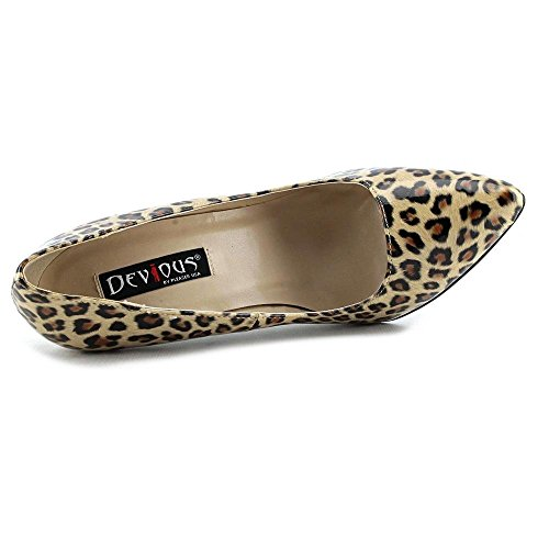 Pleaser EU-SEXY-20 - Zapatos de tacón de material sintético mujer Leopard