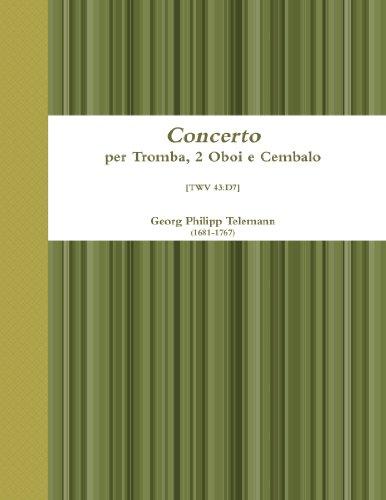 Concerto Per Tromba, 2 Oboi E Cembalo (Italian Edition) - Art Tromba