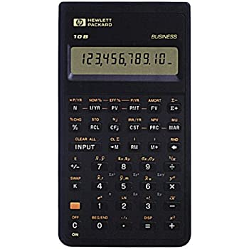 amazon com hp 10b financial calculator electronics rh amazon com HP Pavilion Desktop Manuals hp 10b calculator user guide