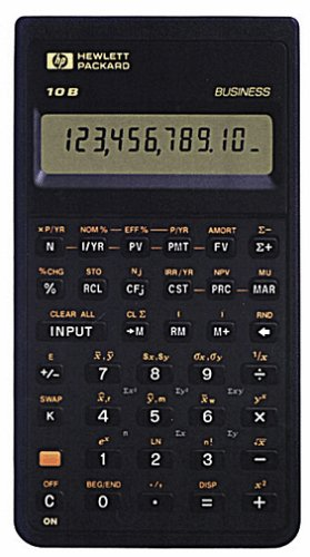 HP 10B Financial Calculator