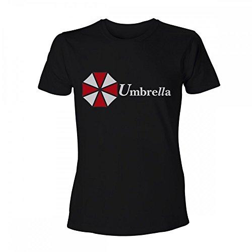 Resident Evil Unisex T-Shirt Umbrella Corporation Schwarz 100% Baumwolle