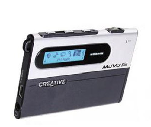 Creative MuVo Slim 256 MB MP3 Player Black