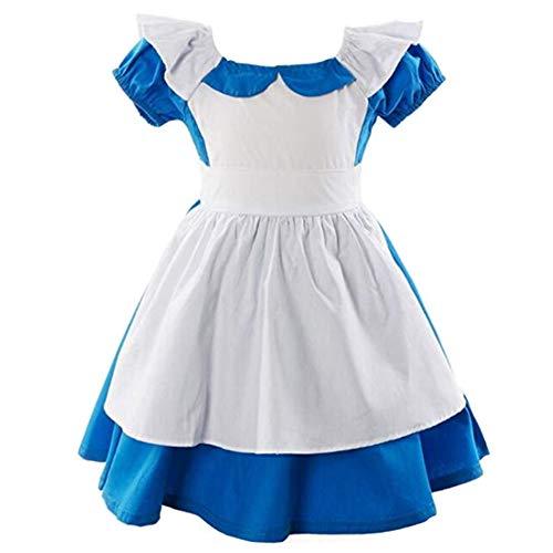 Tsyllyp Little Girls Princess Alice Dress Up Cotton Halloween Costumes -