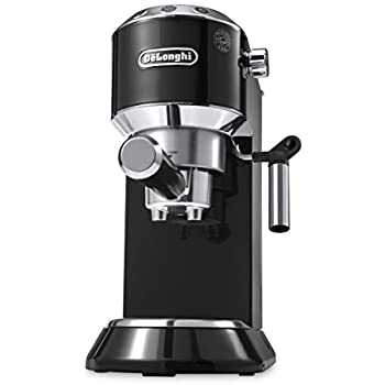 DeLonghi America EC680B Dedica 15-Bar Pump Espresso Machine, Black